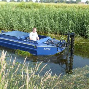 łódź kosząca berky